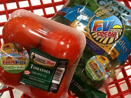 Les points FarmVille à gagner sur les packs de légumes