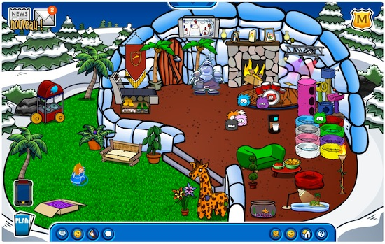 ClubPenguin_igloo