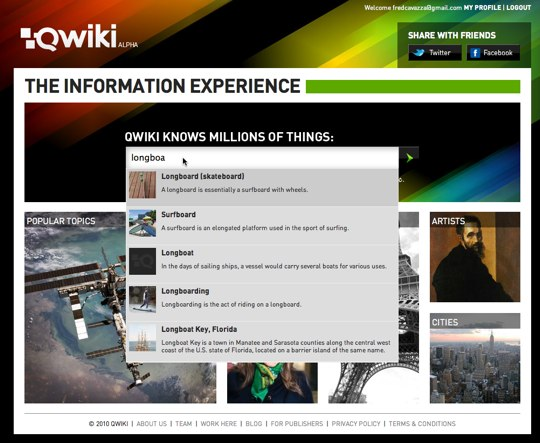 Qwiki_home