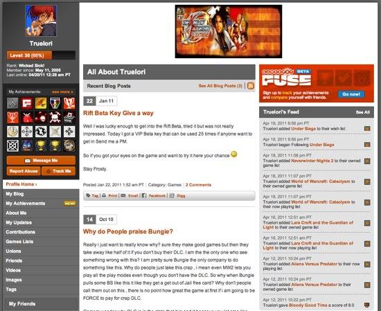 GameSpot_Profile