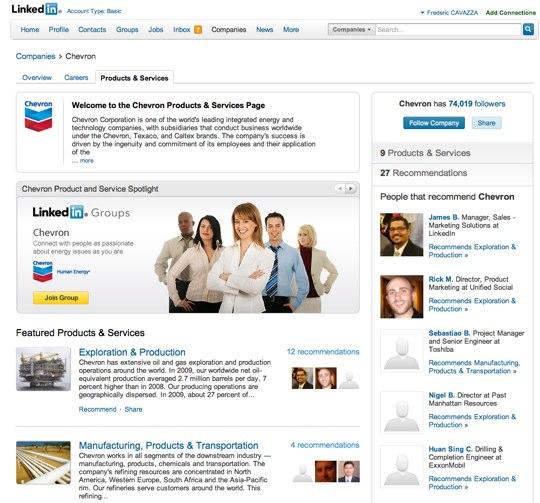 Chevron-LinkedIn