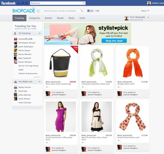 Shopcade_Facebook