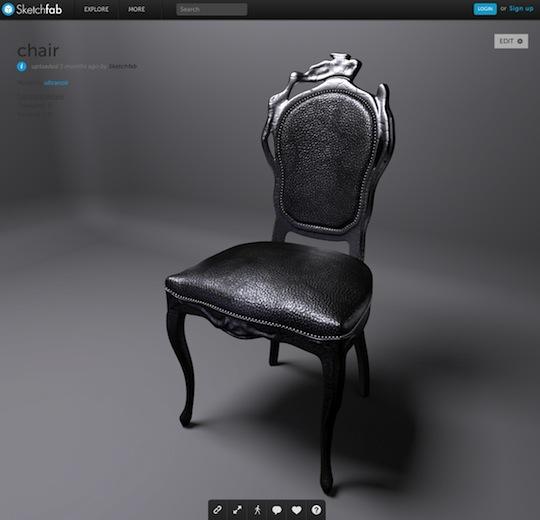 Sketchfab_Chair