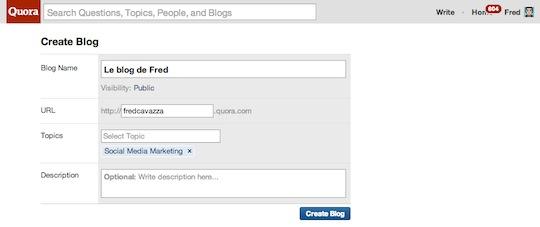 Quora-create-blog