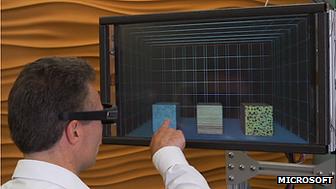 Microsoft-3D-screen