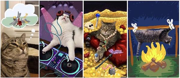 Snapchat-cats