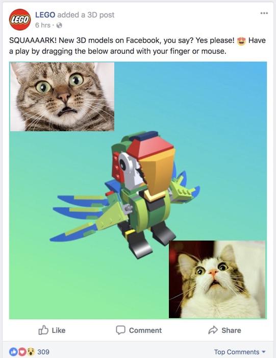 3D-parrot