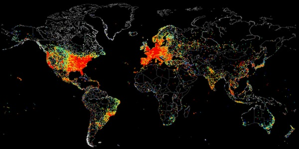 Shodan-IoT-Map